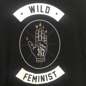 Wild Feminist Wildfang Shirt